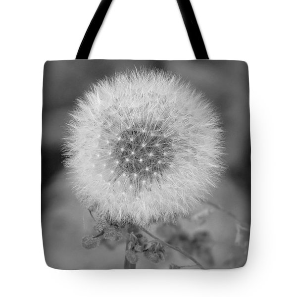 B And W Seed Head Tote Bag