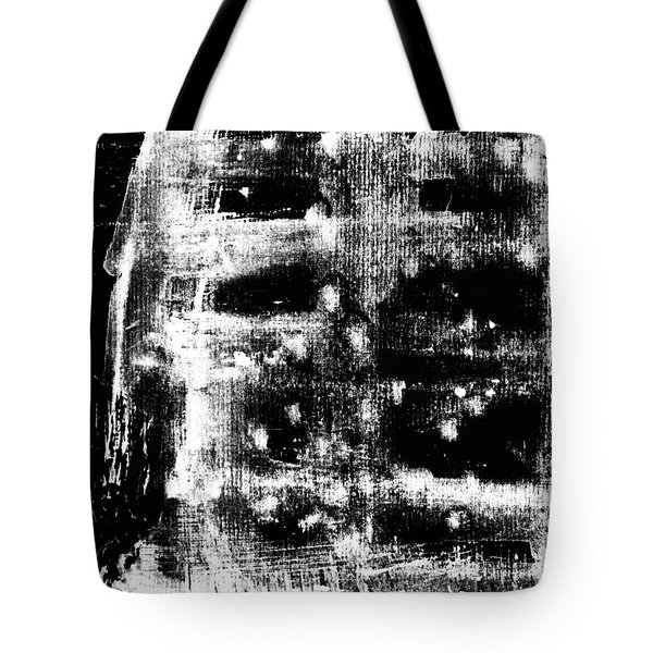 B 'n' W Abstract 2 Tote Bag