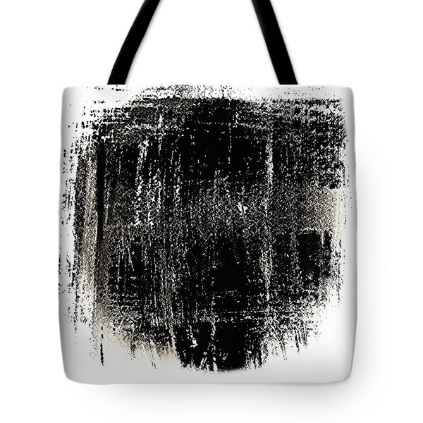 B 'n' W Abstract 3 Tote Bag