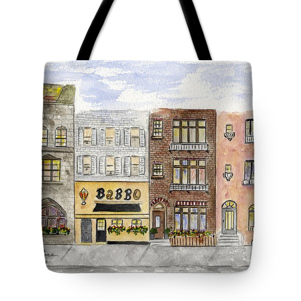 Babbo @ Waverly Place Tote Bag