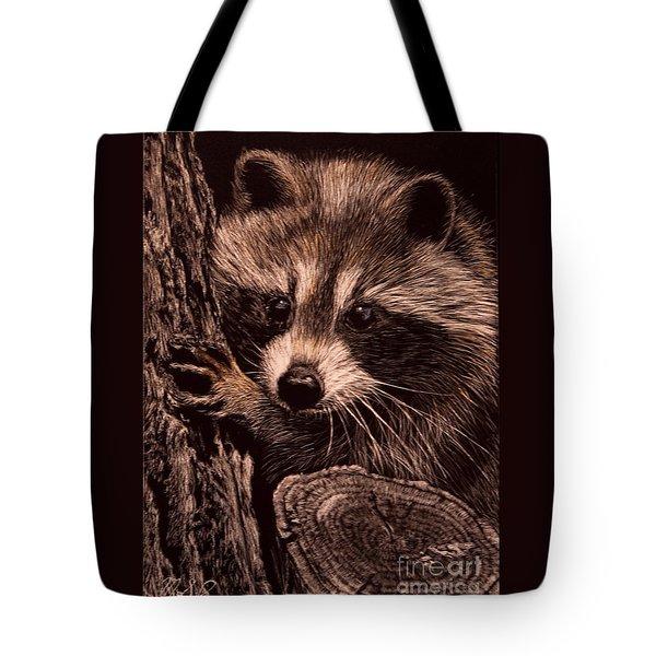 Baby Bandit Tote Bag