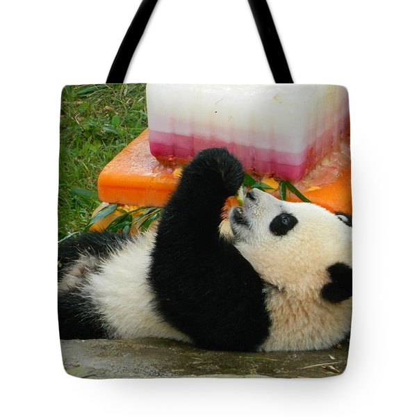 Baby Bao Bao's First Birthday Tote Bag by Emmy Marie Vickers