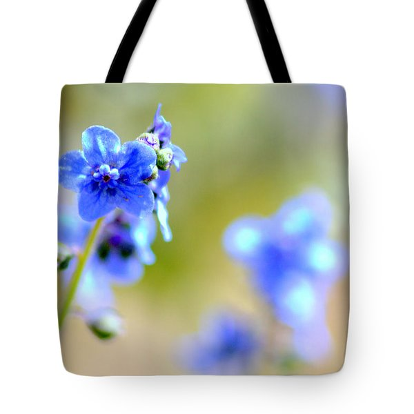 Baby Blu Tote Bag by Martina  Rathgens