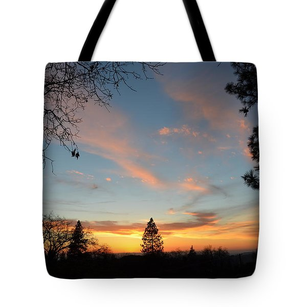 Baby Blue Sky Tote Bag
