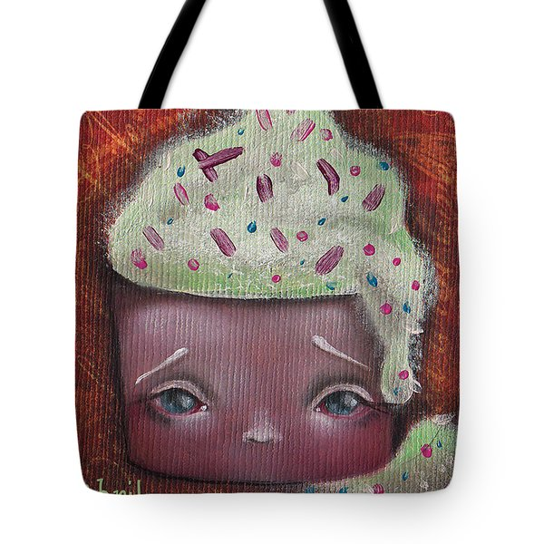 Baby Cakes II Tote Bag by Abril Andrade Griffith