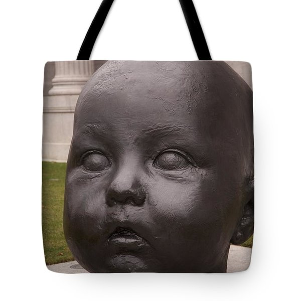 Baby Head Tote Bag
