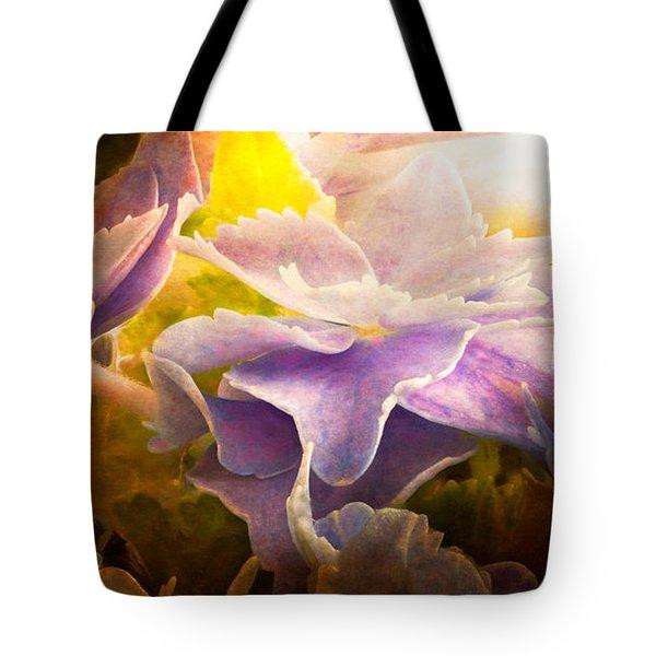 Baby Hydrangeas Tote Bag by Bob Orsillo