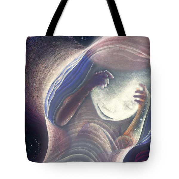 Baby In The Journey Tote Bag