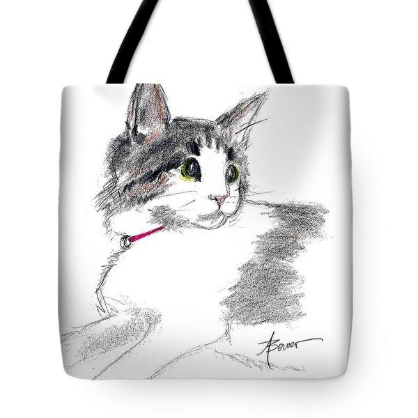 Baby Kitten Tote Bag