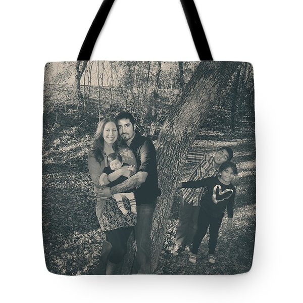 Baby Makes Five Tote Bag by Laurie Search
