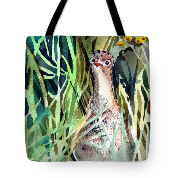 Baby Wild Turkey Tote Bag