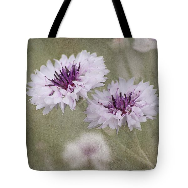 Bachelor Buttons - Flowers Tote Bag