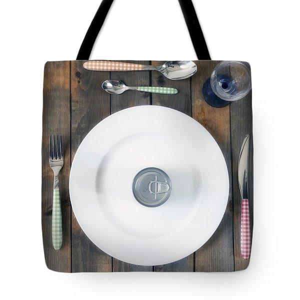 Bachelor's Dinner Tote Bag by Joana Kruse