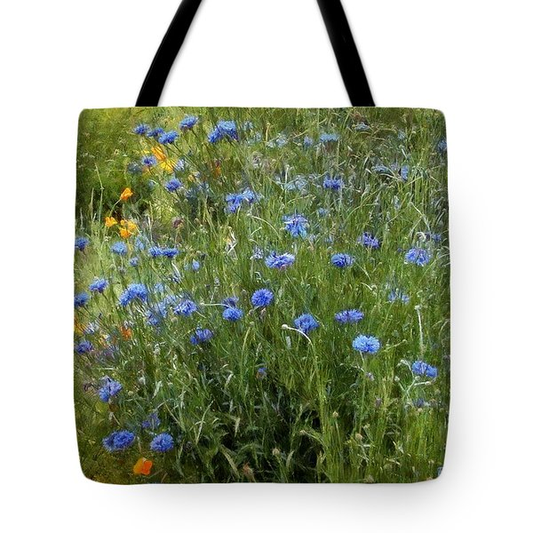 Bachelor's Meadow Tote Bag