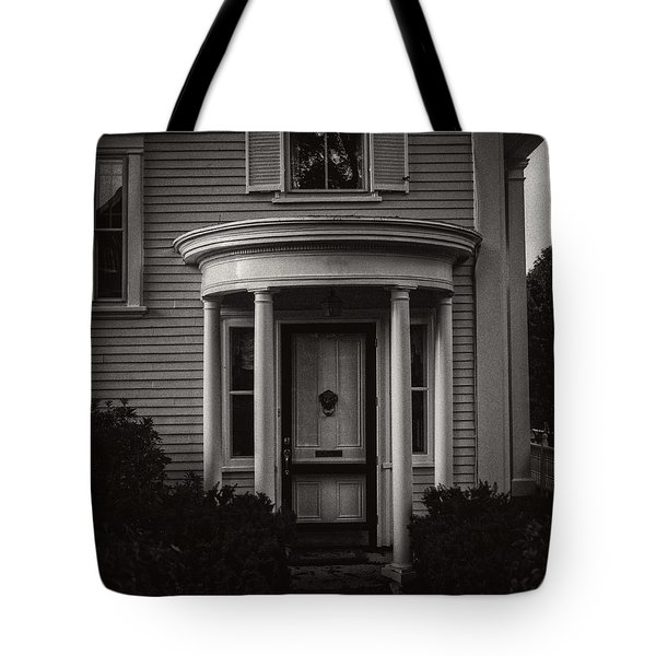 Back Home Bar Harbor Maine Tote Bag by Edward Fielding