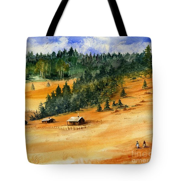 Back Home Tote Bag by Marilyn Smith