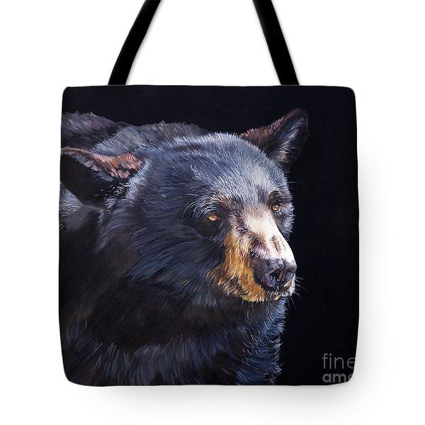 Back In Black Bear Tote Bag