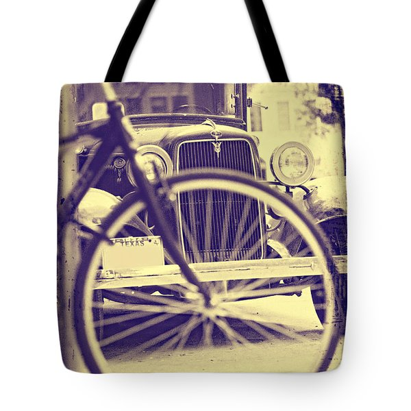 Tote Bag featuring the digital art Back In Time by Erika Weber