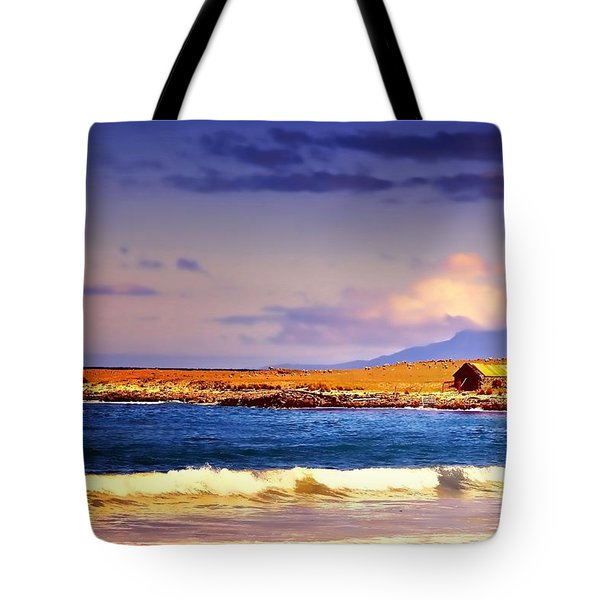 Tote Bag featuring the photograph Back Paddock by Wallaroo Images