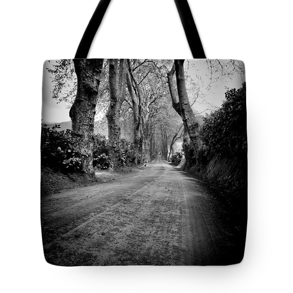 Back Road East Tote Bag