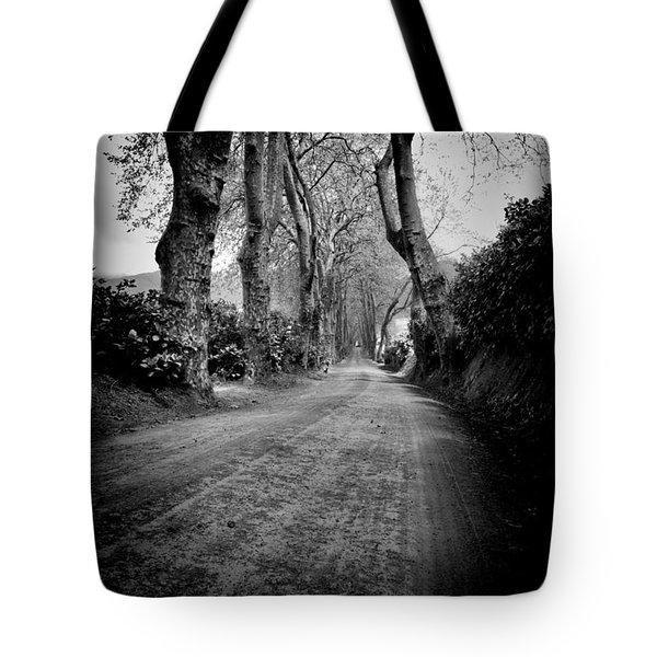 Back Road East Tote Bag