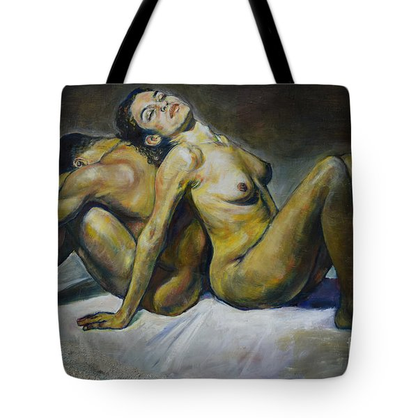Back To Back Tote Bag
