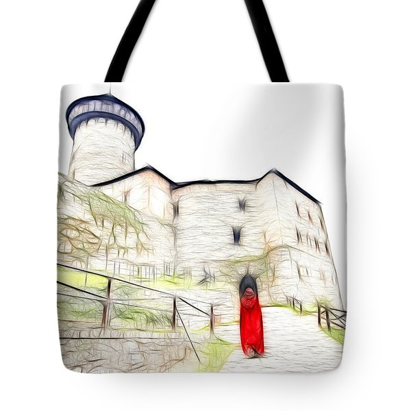 Back To Home Tote Bag by Michal Boubin