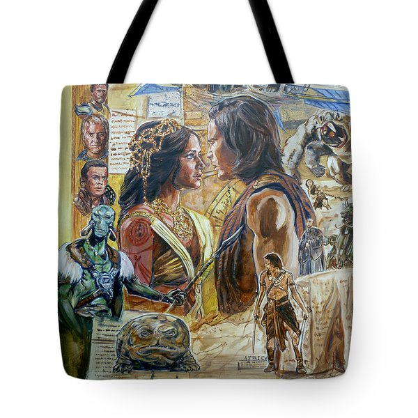Back To Mars Tote Bag