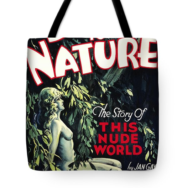 Back To Nature Tote Bag by Studio Artist