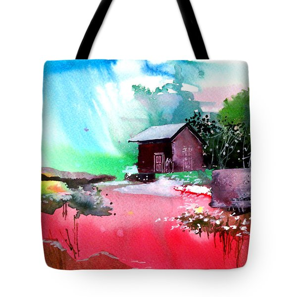 Back To Pavilion Tote Bag by Anil Nene