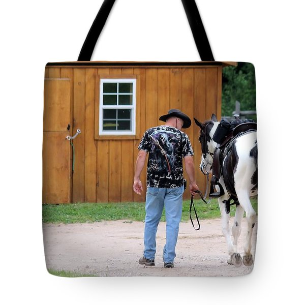 Back To The Barn Tote Bag