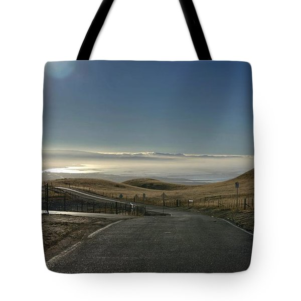 Tote Bag featuring the photograph Back To The Future by Peter Thoeny