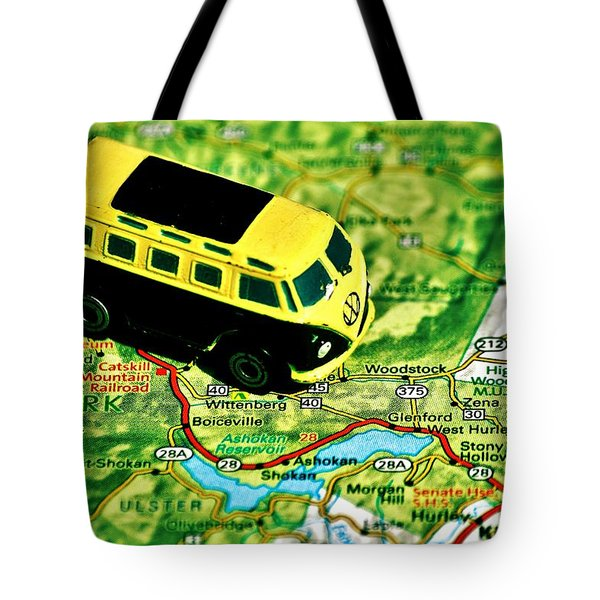 Back To The Garden Tote Bag by Benjamin Yeager