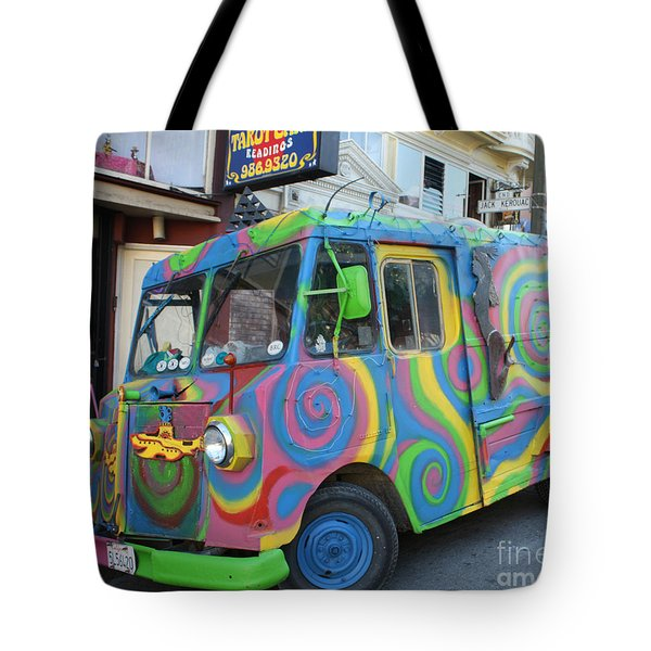 Back To The Sixties Tote Bag by John Telfer