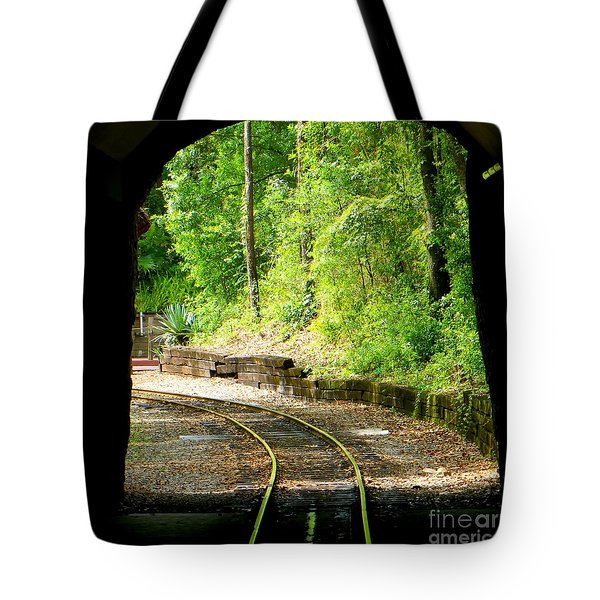Back Tracking Tote Bag by Joy Hardee