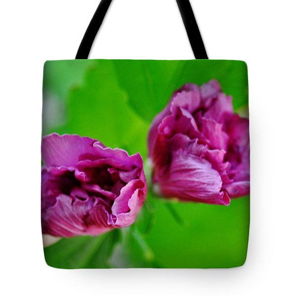 Back Yard Weed Tote Bag
