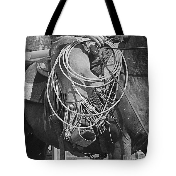 Backing Up Tote Bag