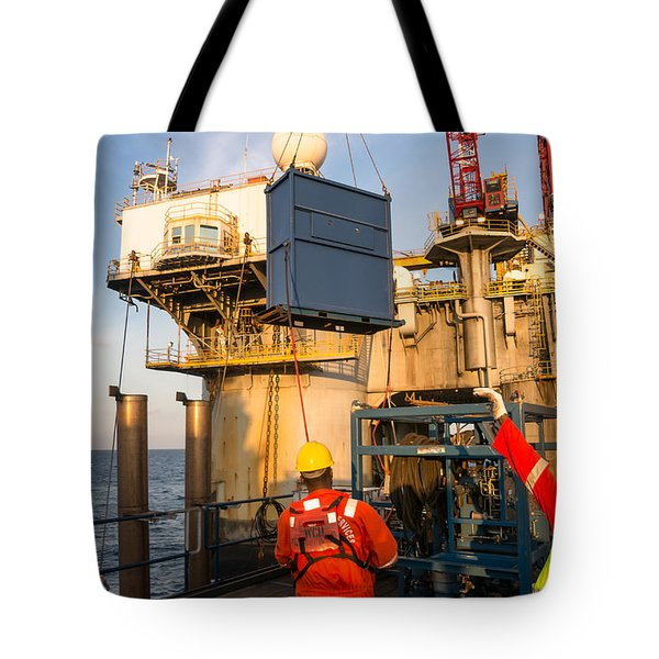Backloading Equipment Tote Bag