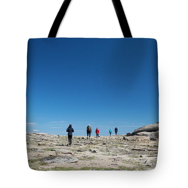 Backpacking In Cathedral Lakes Tote Bag