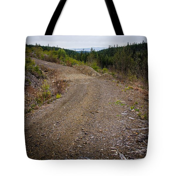 4x4 Logging Road To Adventure Tote Bag