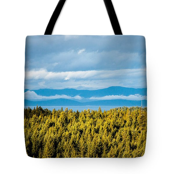 Backroad Ocean View Tote Bag