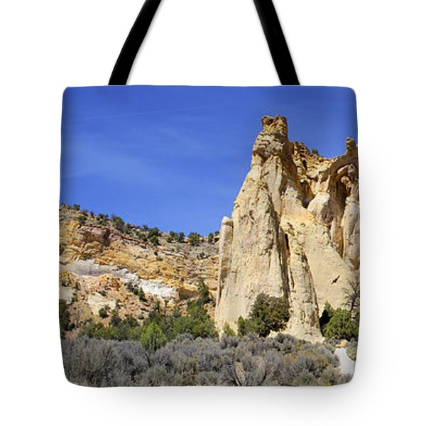 Backroads Utah Panoramic 2 Tote Bag by Mike McGlothlen