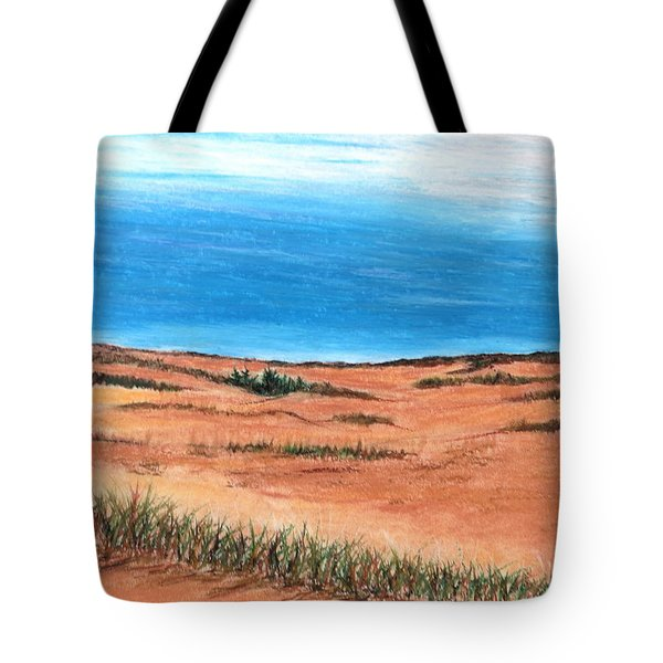 Backside Beach Tote Bag