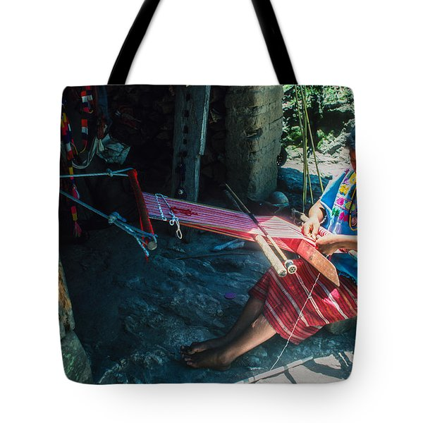 Backstrap Loom Tote Bag