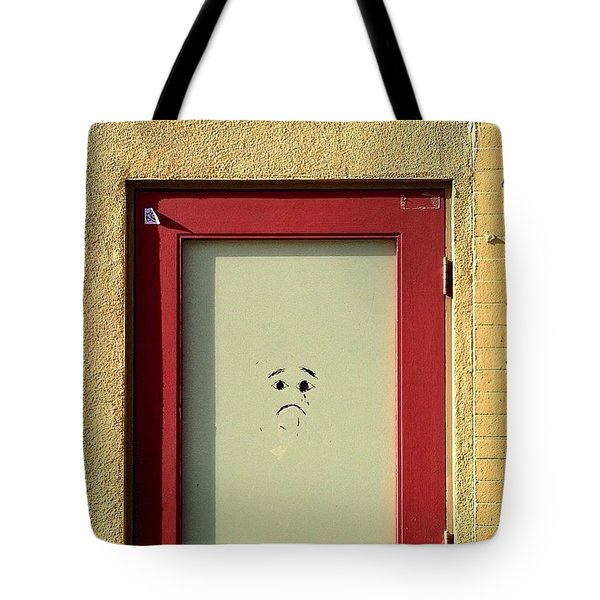 Sad Door Tote Bag