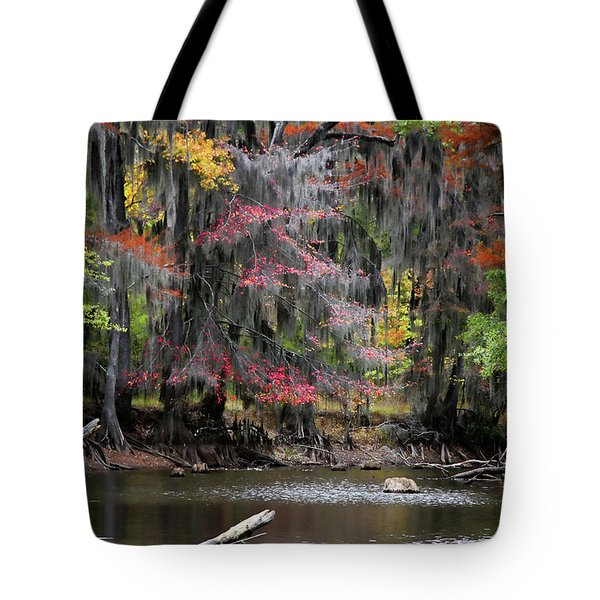 Backwater Autumn Tote Bag