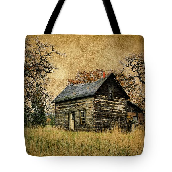 Backwoods Cabin Tote Bag