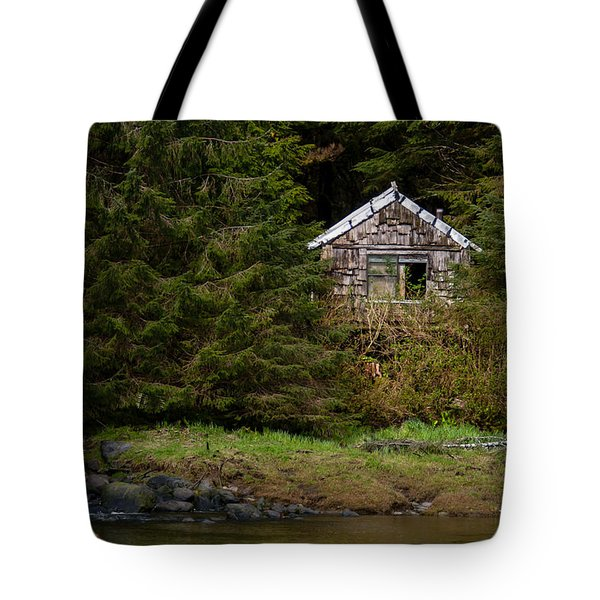 Backwoods Shack Tote Bag