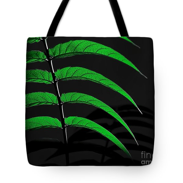 Backyard Abstract Tote Bag
