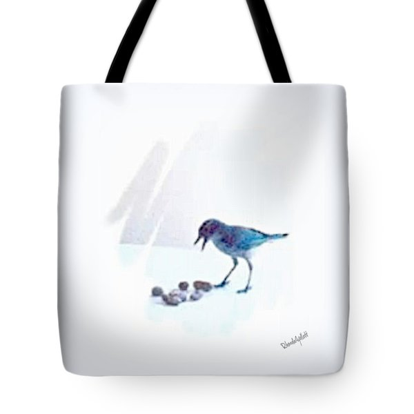 Backyard Bird Tote Bag